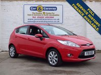 USED 2011 11 FORD FIESTA 1.2 ZETEC 5d 81 BHP Full History Bluetooth 50+MPG 0% Deposit Finance Available