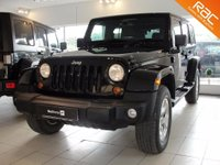 2013 JEEP WRANGLER  2.8 CRD Overland Unlimited Station Wagon 4x4 4dr £24994.00