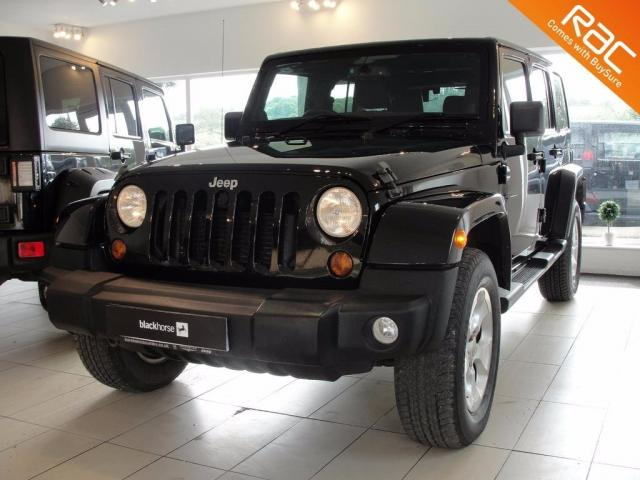 2013 63 JEEP WRANGLER  2.8 CRD Overland Unlimited Station Wagon 4x4 4dr