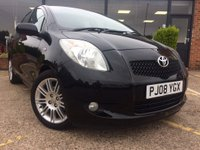 USED 2008 08 TOYOTA YARIS 1.3 VVT-i SR 5dr Come for a test drive...