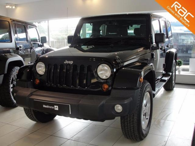 2013 13 JEEP WRANGLER  2.8 CRD Overland Unlimited Station Wagon 4x4 4dr