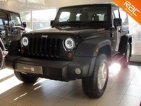 USED 2013 62 JEEP WRANGLER 3.6L Petrol Removable Roof Panels Manual 2dr Low Road Tax, Low Mileage, FSH