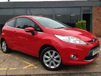 USED 2009 59 FORD FIESTA 1.25 Zetec 3dr Come for a test drive...