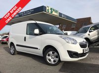 USED 2014 64 VAUXHALL COMBO VAN 1.2 2000 L1H1 CDTI SPORTIVE 1d 90 BHP One Owner, Only 47,500 Miles, Sportive, Top Spec, Platinum Warranty Plan Up To 36 Months Available