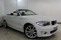 USED 2011 11 BMW 1 SERIES 2.0 118I SPORT 2DR 141 BHP SERVICE HISTORY + MULTI FUNCTION WHEEL + RADIO/CD + AUXILIARY PORT + 17 INCH ALLOY WHEELS