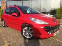USED 2008 08 PEUGEOT 207 SW 1.6 HDi Sport 5dr Full Glass Roof !!!