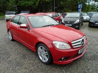 USED 2008 58 MERCEDES-BENZ C CLASS 2.1 C200 CDI Sport 4dr