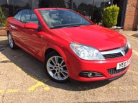 USED 2007 07 VAUXHALL ASTRA 1.8 i Design Twin Top 2dr Come for a test drive...