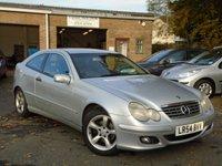 2004 MERCEDES-BENZ C CLASS 1.8 C200 KOMPRESSOR SE SPORTS 3d AUTO 161 BHP £2495.00