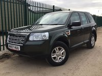 USED 2007 07 LAND ROVER FREELANDER 2 2.2 TD4 S 5d 159 BHP MOT 04/18  NO FINANCE REPAYMENTS FOR 2 MONTHS STC. GREEN MET WITH FULL BLACK CLOTH. 16 INCH ALLOYS. COLOUR CODED TRIMS. AIR CON.R/CD PLAYER. 6 SPEED MANUAL. TOWBAR. MOT 04/18. DEALER SERVICE HISTORY. AGE/MILEAGE RELATED SALE. TEL 01937 849492