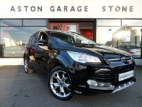 USED 2016 66 FORD KUGA 2.0 TITANIUM SPORT TDCI 5d 148 BHP **SAT NAV * PARK ASSIST ** ** ACTIVE PARK ASSIST * SAT NAV * HALF LEATHER **