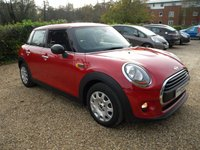 USED 2014 64 MINI HATCH ONE 1.2 ONE 5d 101 BHP £30 Tax, Key Less Start . Bluetooth. DAB Radio