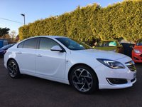 2014 VAUXHALL INSIGNIA 2.0 CDTI SRI SAT NAV VX-LINE ECOFLEX S/S 5d 160 BHP 1 PRIVATE OWNER FROM NEW  £SOLD