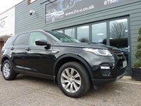 USED 2015 65 LAND ROVER DISCOVERY SPORT 2.0 TD4 SE TECH 5d 180 BHP