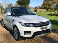 USED 2015 65 LAND ROVER RANGE ROVER SPORT 3.0 SDV6 HSE 5d AUTO 306 BHP HEATED LEATHER, SATNAV, REVERSE CAMERA,