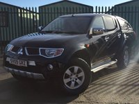 USED 2009 09 MITSUBISHI L200 2.5 ANIMAL LWB DCB 1d 164 BHP CANOPY LEATHER NO VAT NO FINANCE REPAYMENTS FOR 2 MONTHS STC. NO VAT. 4WD. HARDTOP CANOPY. STUNNING BLACK MET WITH FULL BLACK LEATHER TRIM. SIDE STEPS. CRUISE CONTROL. AIR CON. 17 INCH BLACK ALLOYS. COLOUR CODED TRIMS. PRIVACY GLASS. PARKING SENSORS. LOAD LINER KIT. ROOF BARS. PAS. R/CD PLAYER. MFSW. TOWBAR. MOT 09/18. TEL 01937 849492