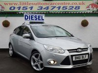 USED 2011 61 FORD FOCUS 1.6 TITANIUM X TDCI 5d 113 BHP DIESEL, FULLY LOADED, PARKING ASSIST & SENSORS, FINANCE AVAILABLE