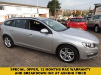 USED 2014 14 VOLVO V60 2.0 D3 BUSINESS EDITION 5d 134 BHP