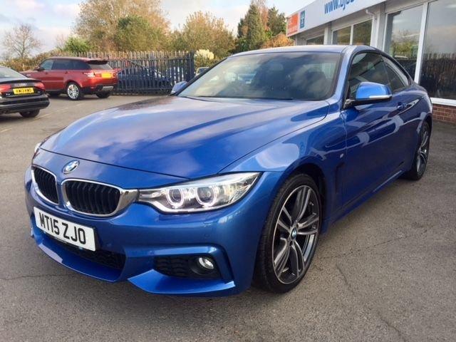 2015 15 BMW 4 SERIES 2.0 420D M SPORT 2d AUTO 188 BHP