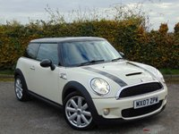 USED 2007 07 MINI HATCH COOPER 1.6 COOPER S 3d STUNNING BLACK & RED HEATED SPORTY INTERIOR