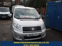 2008 FIAT SCUDO 2.0 DELUXE, LWB, 135 BHP, 6 SPEED, TOP SPEC, 5 SEATER, AIR CON, SERVICE HISTORY, ** NO VAT! ** £SOLD