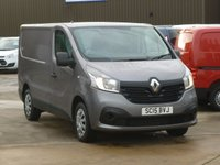 2015 RENAULT TRAFIC 1.6DCi SL27 BUSINESS PLUS ENERGY 120 BHP £9495.00