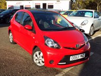 2013 TOYOTA AYGO 1.0 VVT-I MOVE WITH STYLE 5d 68 BHP £4850.00