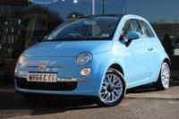 2014 FIAT 500 1.2 LOUNGE 3d 69 BHP £6874.00