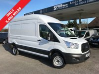 USED 2016 66 FORD TRANSIT 2.2 350 H/R P/V 1d 125 BHP PRICE CUT, Only 5,400 Miles, New Shape, 125 BHP, One Owner From New.