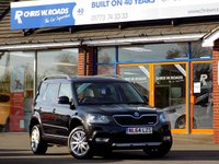 USED 2014 64 SKODA YETI 1.6 TDi CR ELEGANCE GREENLINE II  5dr  *ONLY 9.9% APR with FREE Servicing*