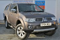USED 2014 64 MITSUBISHI L200 2.5 DI-D 4X4 BARBARIAN LB DCB 1d AUTO 175 BHP **ONE OWNER FROM NEW**
