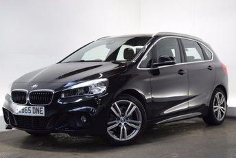 2016 BMW 2 SERIES 2.0 220D M SPORT ACTIVE TOURER 5d 188 BHP £16000.00