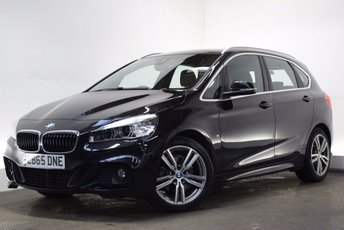 2016 BMW 2 SERIES 2.0 220D M SPORT ACTIVE TOURER [NAV/LEATHER] 5d 188 BHP £17790.00
