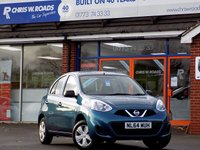 USED 2014 64 NISSAN MICRA 1.2 VISIA 5dr 79 BHP *ONLY 9.9% APR*