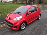 2009 PEUGEOT 107 1.0 VERVE 3d 68 BHP £2999.00