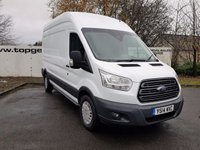 2014 FORD TRANSIT  350 2.2 125 BHP TREND L3 H3 FWD CHOICE OF 70 VANS £9975.00