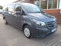 USED 2016 16 MERCEDES-BENZ VITO 114 BLUETEC TOURER PRO AUTOMATIC, 136 BHP, LEATHERETTE INTERIOR, AC, ELECTRIC PACK