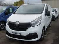USED 2014 64 RENAULT TRAFIC 1.6 SL27 BUSINESS PLUS DCI S/R P/V 1d 115 BHP VAN NEW SHAPE AIR CON