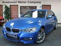 USED 2013 BMW 3 SERIES 2.0 318D M SPORT 4d 141 BHP