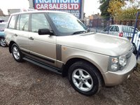 USED 2003 03 LAND ROVER RANGE ROVER 2.9 TD6 HSE 5d AUTO 175 BHP PRISTINE CONDITION, F.S.H, LEATHER , SAT NAV