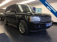 USED 2007 07 LAND ROVER RANGE ROVER 3.6 TDV8 VOGUE SE 5d AUTO 272 BHP HUGE SPEC, FULL SERVICE HISTORY