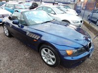 USED 1997 R BMW Z3 1.9 Z3 ROADSTER 2d 138 BHP F.S.H, BLACK LEATHER INTERIOR, ALLOY WHEELS