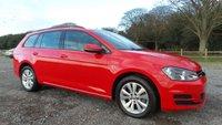 2014 VOLKSWAGEN GOLF 1.6 SE TDI BLUEMOTION TECHNOLOGY DSG 5d AUTO 103 BHP £9500.00