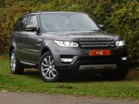 USED 2015 15 LAND ROVER RANGE ROVER SPORT 3.0 SDV6 HSE 5dr AUTO FLSH 7 SEATS PAN ROOF 1 OWNER