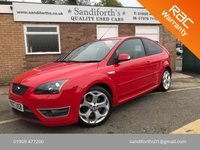 2007 FORD FOCUS 2.5 ST-2 3d 225 BHP ONLY 2 FORMER KEEPERS, 8 SERVICES  £6790.00
