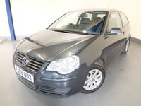 USED 2008 08 VOLKSWAGEN POLO 1.4 SE 3d 79 BHP