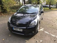USED 2010 60 TOYOTA VERSO 2.0 TR D-4D 5d 125 BHP