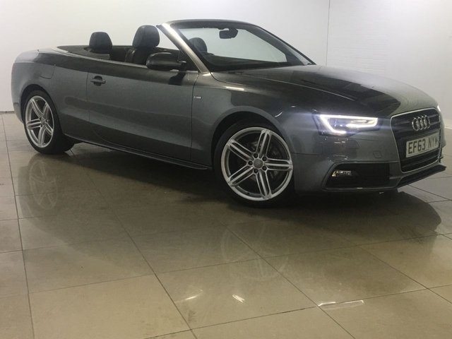 View our 2014 63 AUDI A5 2.0 TDI S LINE SPECIAL EDITION 2d 175 BHP