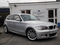 USED 2007 07 BMW 1 SERIES 2.0 120D M SPORT 5d 175 BHP