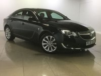 USED 2015 15 VAUXHALL INSIGNIA 2.0 ELITE CDTI 5d AUTO 160 BHP LEATHER / PARKING AID